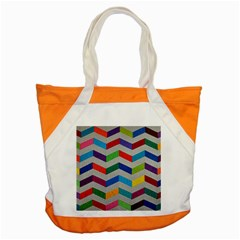 Charming Chevrons Quilt Accent Tote Bag