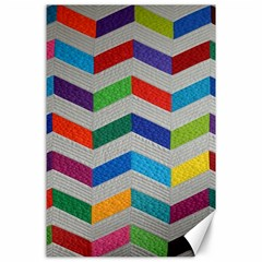 Charming Chevrons Quilt Canvas 24  X 36