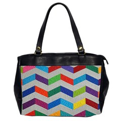 Charming Chevrons Quilt Office Handbags (2 Sides)