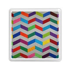 Charming Chevrons Quilt Memory Card Reader (square)