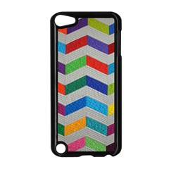 Charming Chevrons Quilt Apple Ipod Touch 5 Case (black)