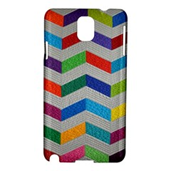 Charming Chevrons Quilt Samsung Galaxy Note 3 N9005 Hardshell Case