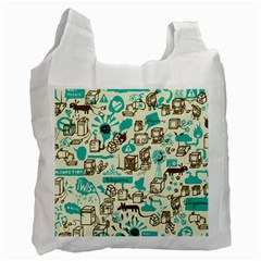 Telegramme Recycle Bag (two Side)