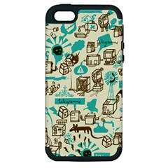 Telegramme Apple Iphone 5 Hardshell Case (pc+silicone)