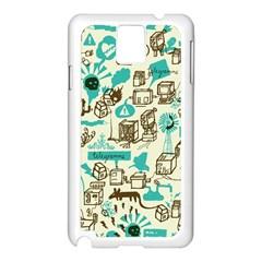 Telegramme Samsung Galaxy Note 3 N9005 Case (white)