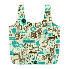 Telegramme Full Print Recycle Bags (l)
