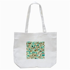 Telegramme Tote Bag (white)