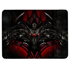 Black Dragon Grunge Samsung Galaxy Tab 7  P1000 Flip Case