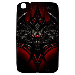 Black Dragon Grunge Samsung Galaxy Tab 3 (8 ) T3100 Hardshell Case