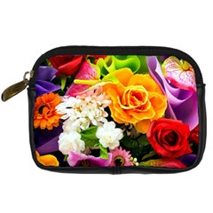 Colorful Flowers Digital Camera Cases