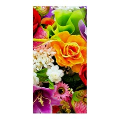 Colorful Flowers Shower Curtain 36  X 72  (stall)