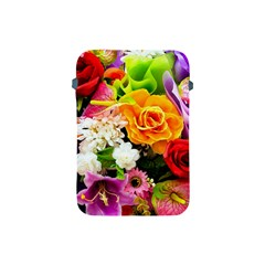 Colorful Flowers Apple Ipad Mini Protective Soft Cases