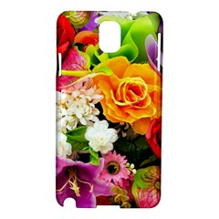 Colorful Flowers Samsung Galaxy Note 3 N9005 Hardshell Case