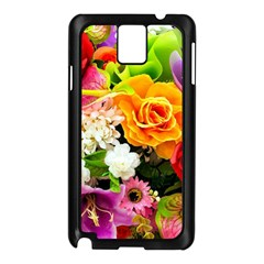 Colorful Flowers Samsung Galaxy Note 3 N9005 Case (black)
