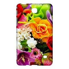 Colorful Flowers Samsung Galaxy Tab 4 (8 ) Hardshell Case