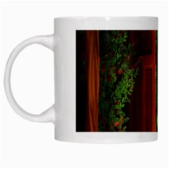 Beautiful World Entry Door Fantasy White Mugs