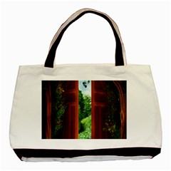 Beautiful World Entry Door Fantasy Basic Tote Bag (two Sides)