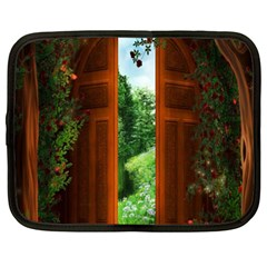 Beautiful World Entry Door Fantasy Netbook Case (xxl)
