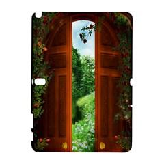 Beautiful World Entry Door Fantasy Galaxy Note 1