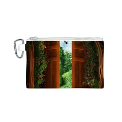 Beautiful World Entry Door Fantasy Canvas Cosmetic Bag (s)