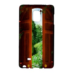 Beautiful World Entry Door Fantasy Galaxy Note Edge