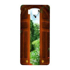 Beautiful World Entry Door Fantasy Samsung Galaxy Alpha Hardshell Back Case