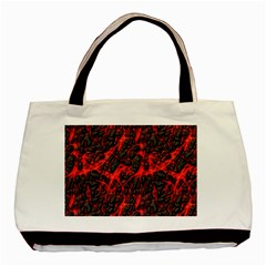 Volcanic Textures  Basic Tote Bag