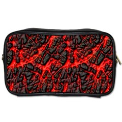 Volcanic Textures  Toiletries Bags 2 Side