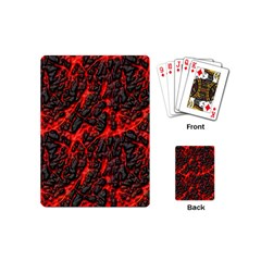 Volcanic Textures  Playing Cards (mini)