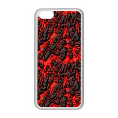Volcanic Textures  Apple Iphone 5c Seamless Case (white)