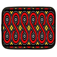 Toraja Traditional Art Pattern Netbook Case (xxl)