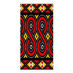 Toraja Traditional Art Pattern Shower Curtain 36  X 72  (stall)