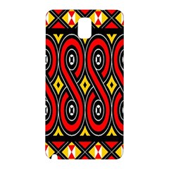Toraja Traditional Art Pattern Samsung Galaxy Note 3 N9005 Hardshell Back Case