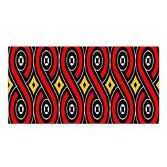 Toraja Traditional Art Pattern Satin Shawl