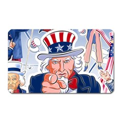 Independence Day United States Of America Magnet (rectangular)