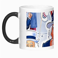 Independence Day United States Of America Morph Mugs