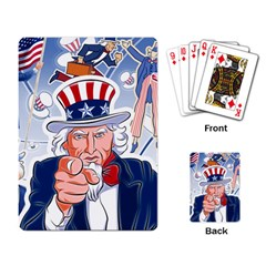 Independence Day United States Of America Playing Card