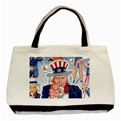 Independence Day United States Of America Basic Tote Bag