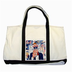 Independence Day United States Of America Two Tone Tote Bag