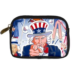 Independence Day United States Of America Digital Camera Cases