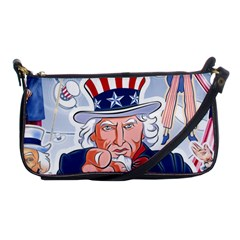 Independence Day United States Of America Shoulder Clutch Bags