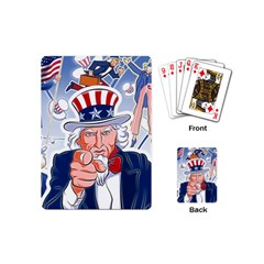 Independence Day United States Of America Playing Cards (mini)