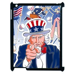 Independence Day United States Of America Apple Ipad 2 Case (black)