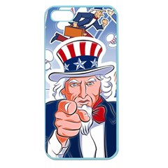Independence Day United States Of America Apple Seamless Iphone 5 Case (color)