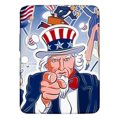 Independence Day United States Of America Samsung Galaxy Tab 3 (10 1 ) P5200 Hardshell Case