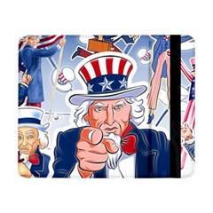 Independence Day United States Of America Samsung Galaxy Tab Pro 8 4  Flip Case