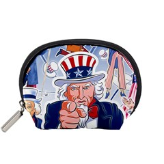 Independence Day United States Of America Accessory Pouches (small)
