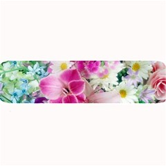 Colorful Flowers Patterns Large Bar Mats