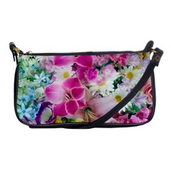 Colorful Flowers Patterns Shoulder Clutch Bags