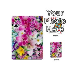 Colorful Flowers Patterns Playing Cards 54 (mini)